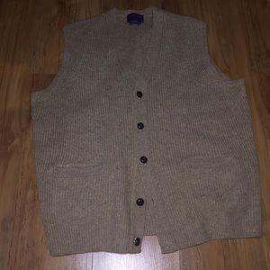 Very clean wool Pendleton vest